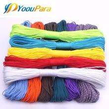 100 цветов Паракорд 2 мм 100 футов, 50 футов один стенд сердечники Паракорд веревка Паракорд шнур для изготовления ювелирных изделий