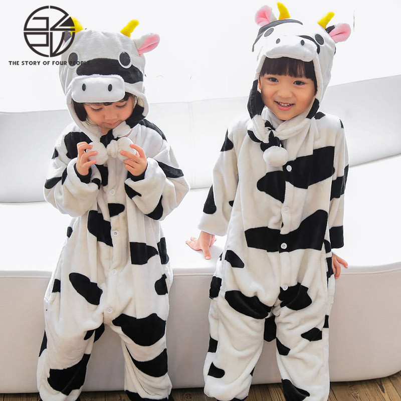 Gzpw Cosplay anime 2018 fashion men and women pajamas animal style couple wool pajamas S-XL
