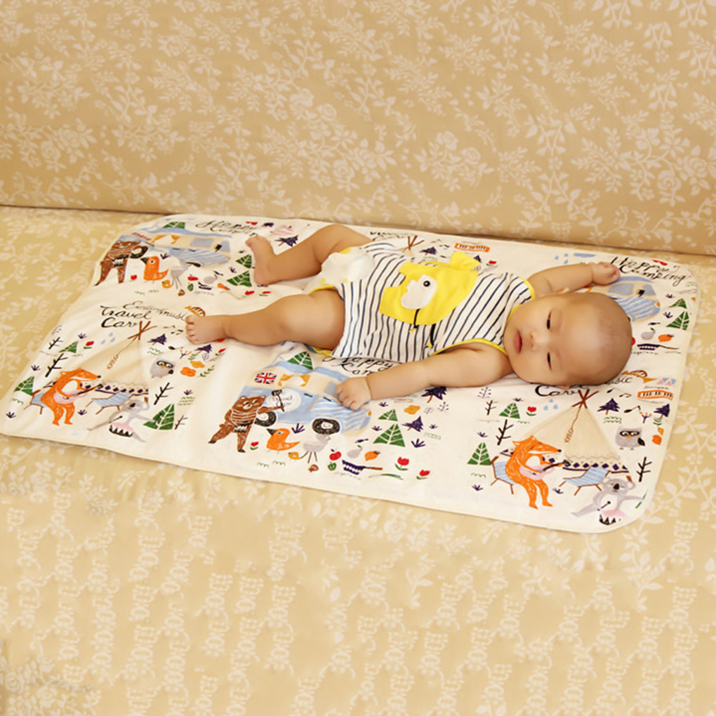 Baby Portable Foldable Washable Compact Travel Nappy Diaper Changing Mat Waterproof Baby ...