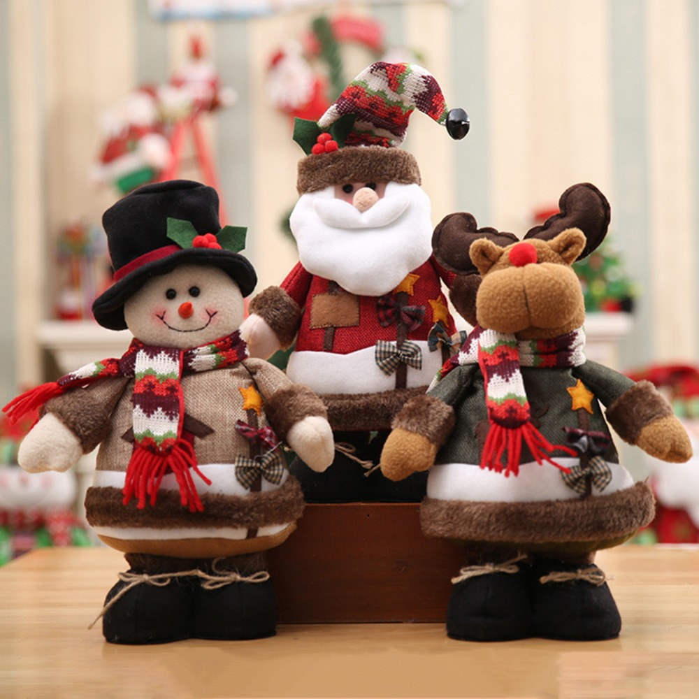 Merry Christmas Santa Claus Doll Ornaments Christmas Gift
