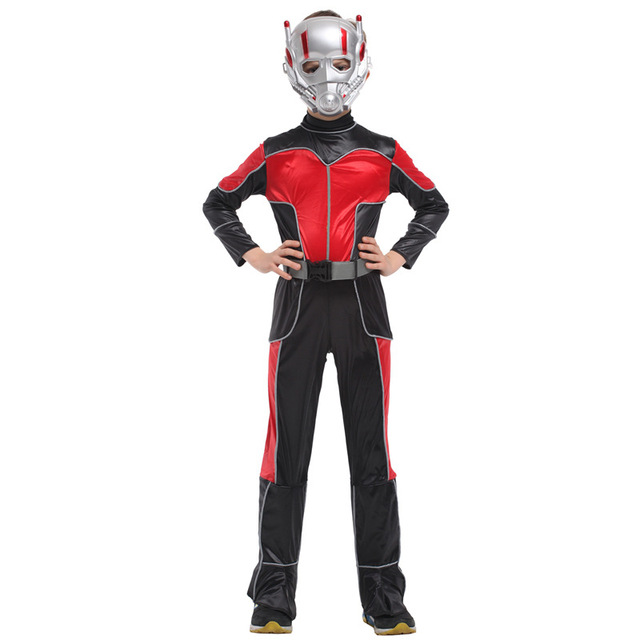 c6cf51b991d5 M-XL Fantasia Movie Anime Boys Kids Ant-Man Cosplay Disfraces The Avengers  Costume Halloween Costumes for Children