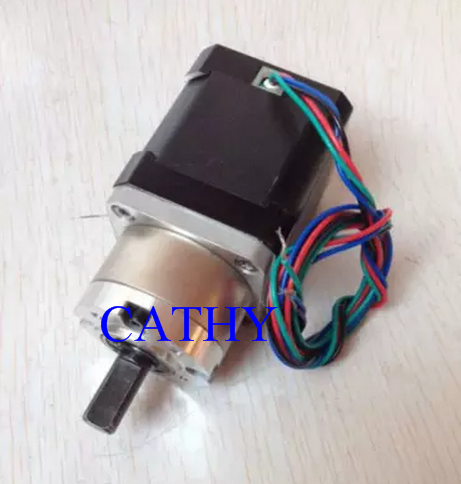 New Best Gear ratio 13:1 Planetary Gearbox stepper motor Nema 17 1.7A Geared Stepper Motor 3d printer stepper motor new best gear ratio 1 3 71 planetary gearbox stepper motor nema 17 1 7a geared stepper motor 3d printer stepper motor