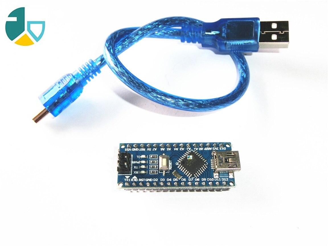 FJS-88 Nano V3.0 per Arduino Nano V3.0 controller ATMEGA328P ATMEGA328 originale CH340 + cavo USB
