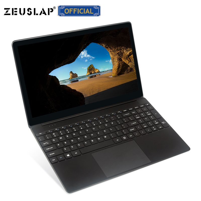 ZEUSLAP 15.6inch 8G RAM 960GB SSD Intel Quad Core Windows 7/10 System Notebook For School Office Home Computer Laptop