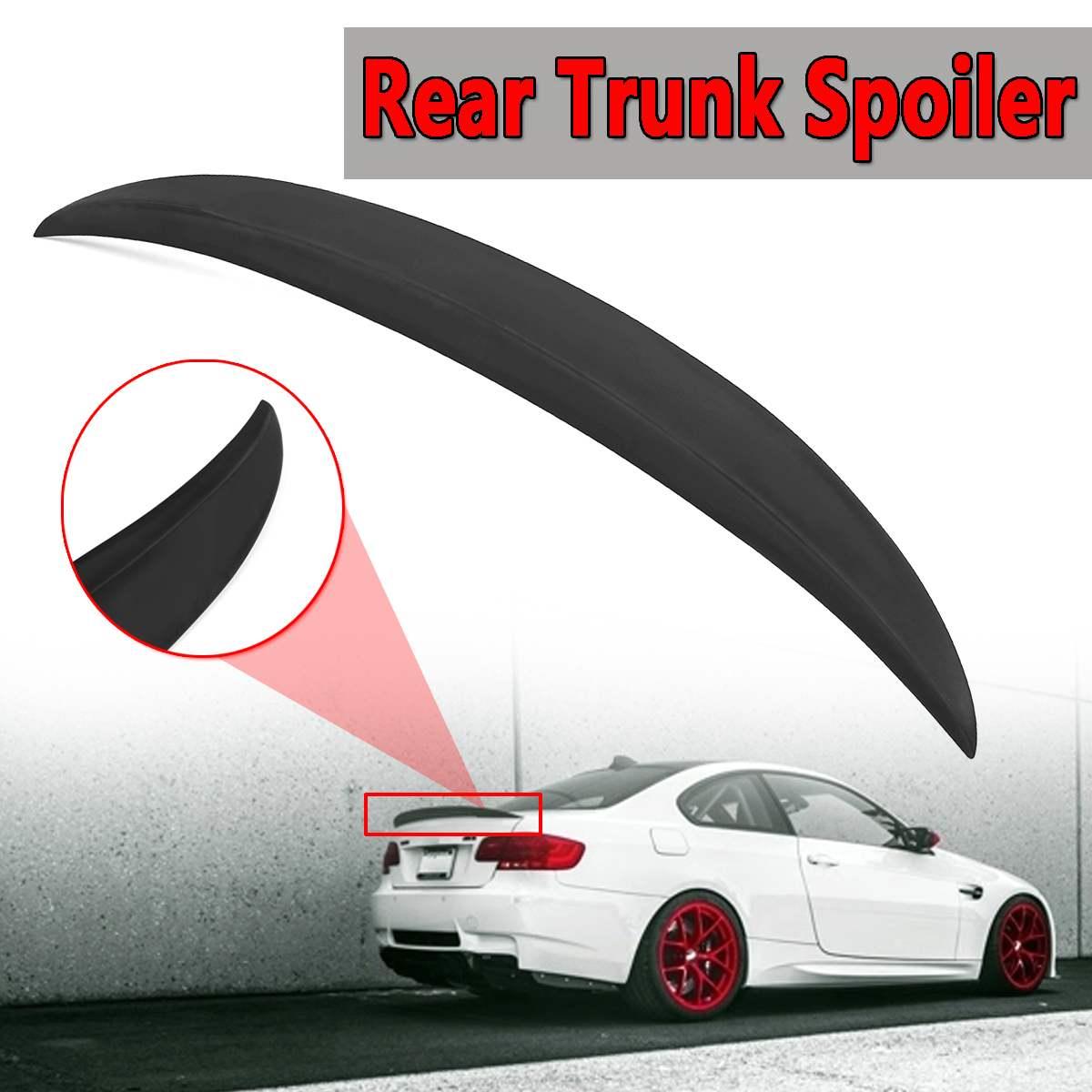 Couvercle de becquet de coffre arrière pour BMW série 3 E92 pour coupé 4Dr M Style de Performance en plastique ABS becquet de coffre arrière en Fiber de carbone véritable