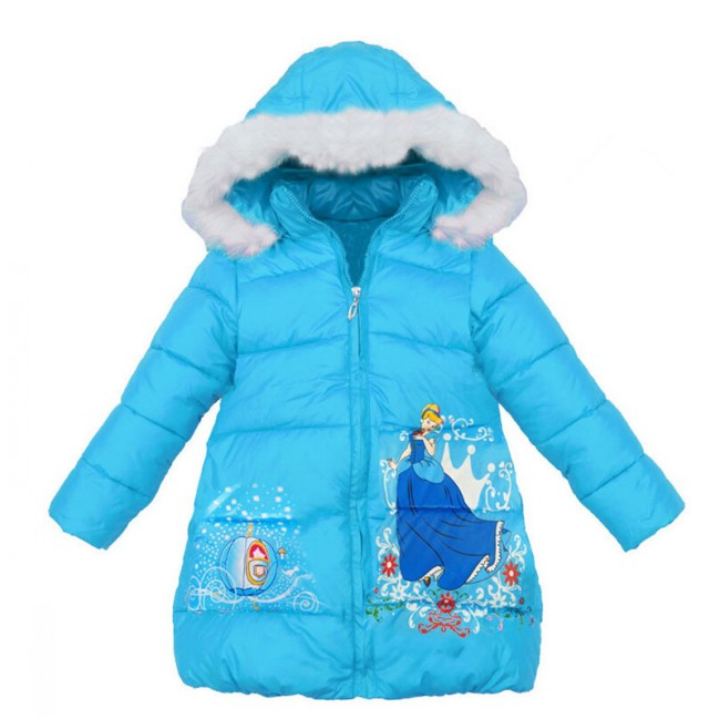 EMS/DHL Free Shipping HOT Children Winter Clothing 2016 New Cotton Padded Jacket Cinderella Children Coat dhl ems new for sch neider nsc 250s 3250n