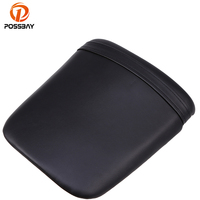 POSSBAY Black Motorcycle ABS Plastic Leather Cushion Rear Seat for Honda F5 2007 2012 Seat Pad Accessories