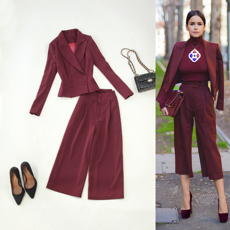 large size women\u0027s new spring and summer 2018 purplish red