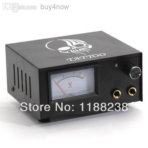 Professional Iron Hull Appearance LCD Digital Tattoo Power Supplier Kit PS-15 for tattoo machine tattoo gun free shipping supply high recommend top grade spyro ps400 tattoo power supply digital lcd black power supply for tattoo machine kit free shipping