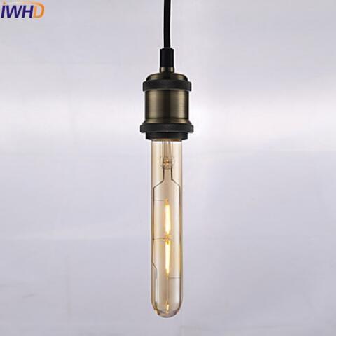 Купить с кэшбэком IWHD 2pcs LED Filament Bulb 2/3/4/6W E27 Bombilla Edison Lamp Vintage Bulb Light Ampoules Decoration T10 T185 T225 T30