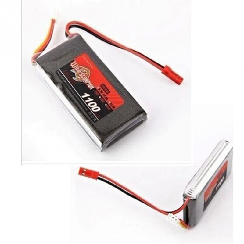 7.4V 1100mAh lithium battery Weili V353 A949 A959 A969 A979 K929 remote control car