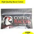 Original de alta calidad de Algodón algodón Para Cigarrillo Electrónico RDA RBA Atomizador rda de Tocino