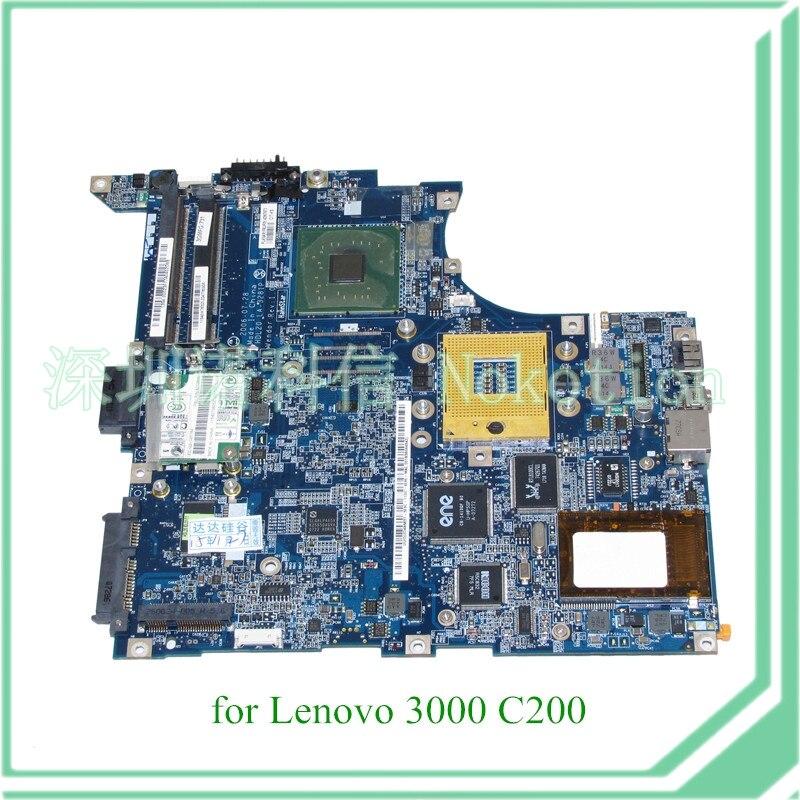 FRU 42W7673 HDL20 LA-3281P For lenovo 3000 C200 laptop motherboard 14 945GM DDR2