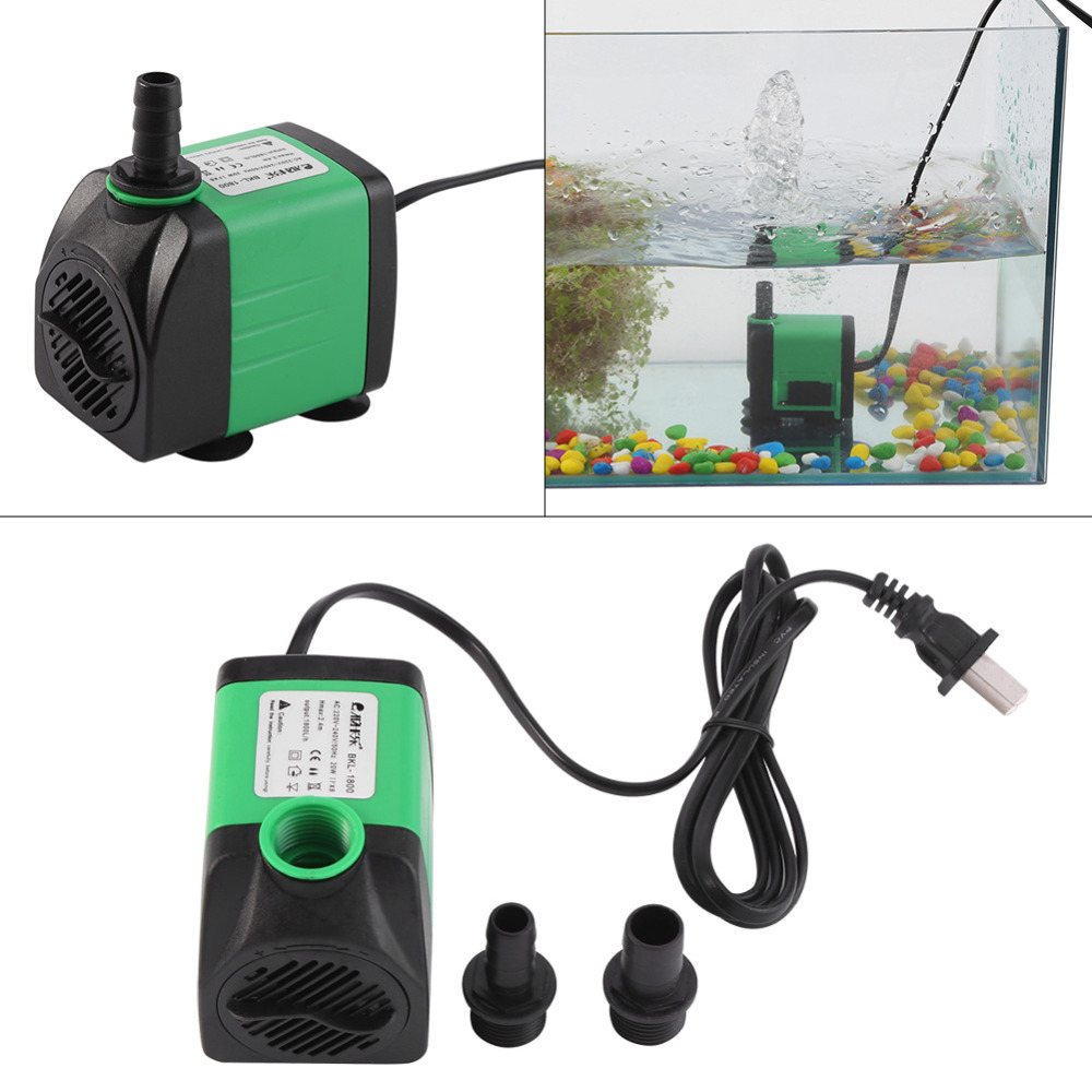 US $7 61 18% OFF|AC 220 240V ABS Submersible Pump Fish Tank Aquarium Pond  Fountain Water Pump 5 Types Electric Submersible Water Pump-in Pumps from
