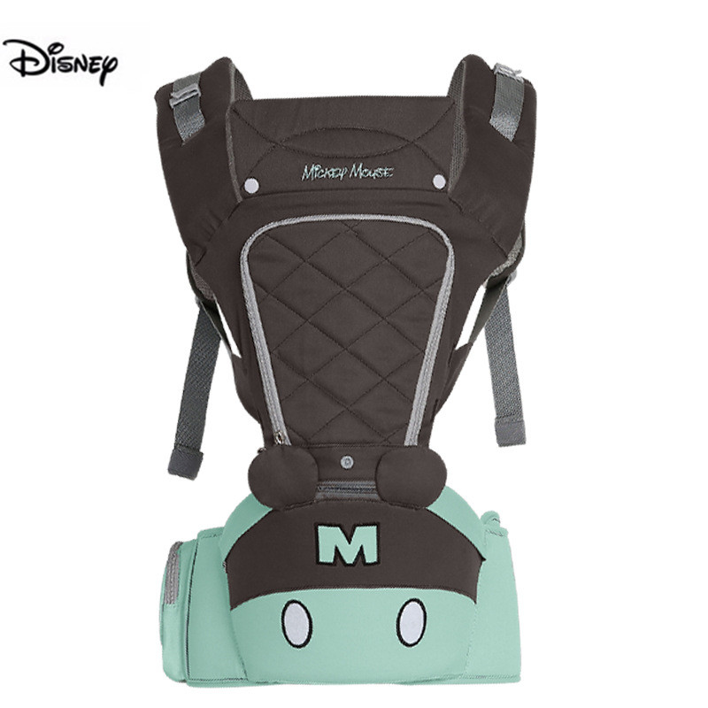 2019 Disney 0-36 Months Bow Breathable Front Facing Baby Carrier Kangaroo Hipseat 20kg Infant Sling Backpack Wrap Infant Carrie