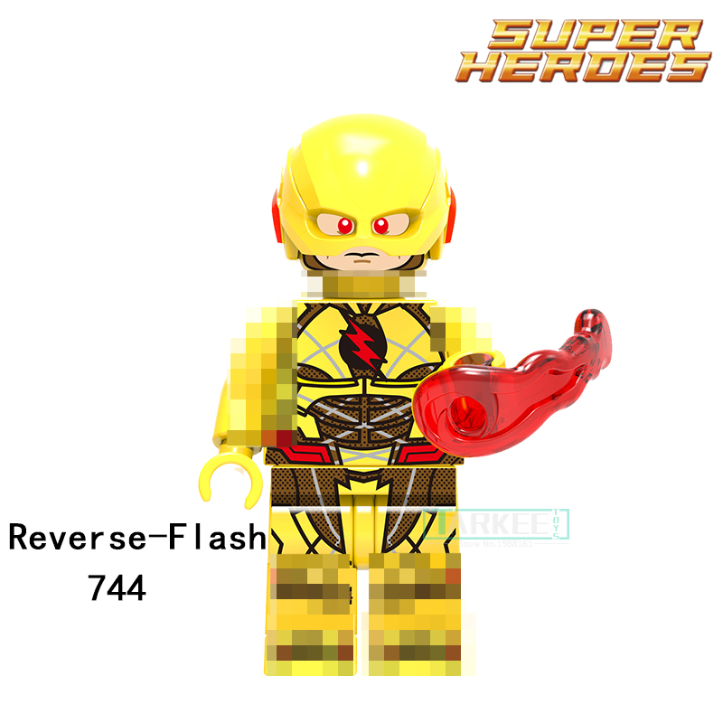 Building Blocks Reverse-Flash Power Girl Parademon Katana Super Hero Star Wars Bricks Dolls Kids DIY Toys Hobbies XH744 Figures single sale aquaman reverse flash parademon green lantern booster gold power girl katana building blocks toys for children x0177