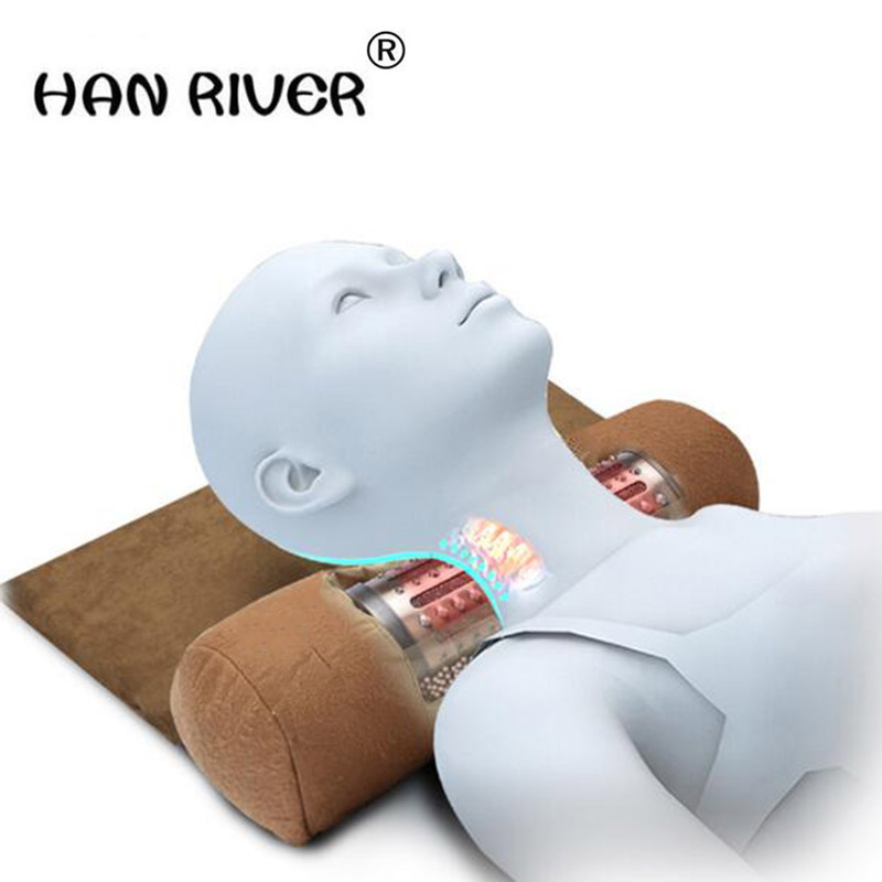 HANRIVER Repair special adult cervical traction orthodontic care massage neck heating moxibustion apparatus fields neck cervical traction device inflatable collar household equipment health care massage device nursing care