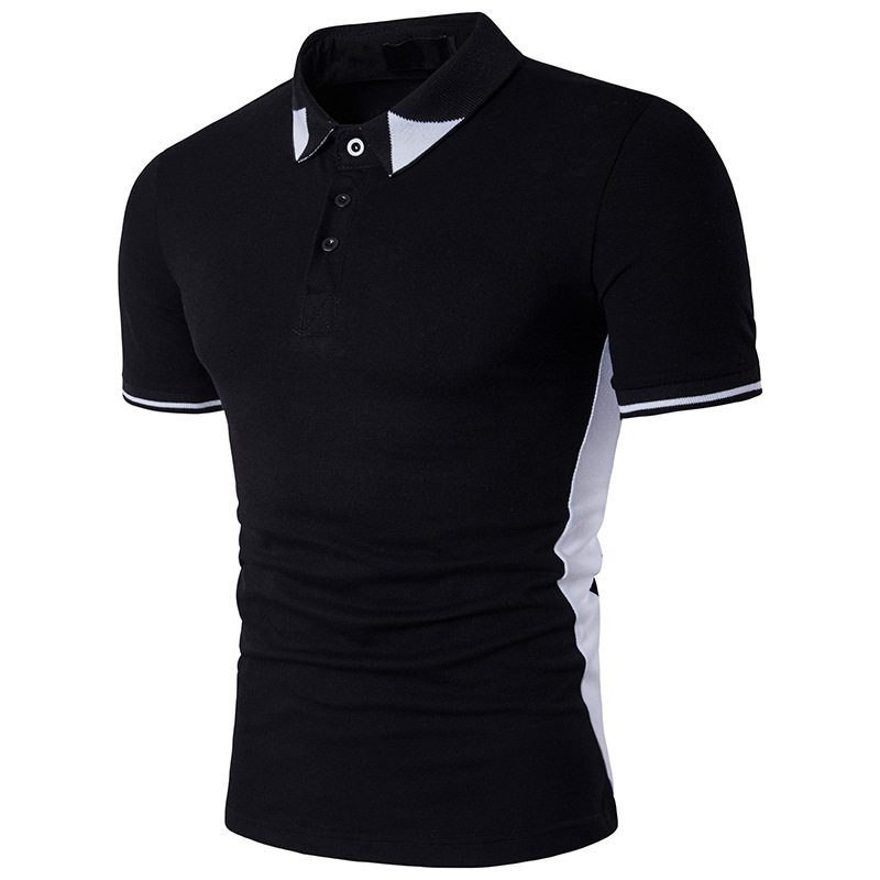 Business Office   Polo   Shirt 2018 New Brand Man Clothing   Polos   Solid Men's   Polo   Shirts Casual   Polo   Shirt Cotton Breathable B82