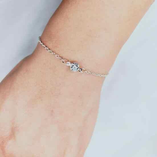 L 308 pulsera de cristal Simple y elegante joyería de comercio exterior europea y americana dulces joyas románticas para mujer