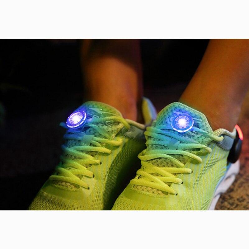 LED en cours d'exécution en plein air Mini torche clignotante nuit marche sécurité voyant d'avertissement lampe nouveau