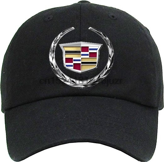 Cadillac Logo Top Level Baseball Cap For Men and Women by Cool Sporting Hat  With Adjustable 54ab73e5d92