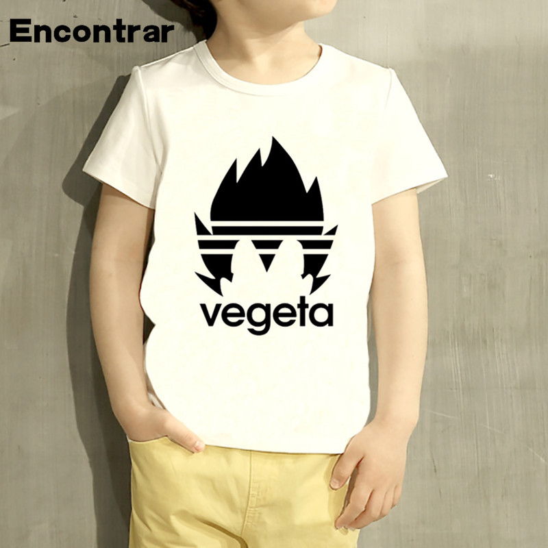 Toddler Dragon Ball Goku Z Design Baby Boys/Girl Anime Vegeta T Shirt Kids Funny Short Sleeve Tops Children Cute T-Shirt,HKP2199 children s anime my neighbor totoro printed t shirt kids great casual short sleeve tops boys and girls cute t shirt