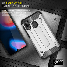 For Samsung Galaxy A40 Case SM-A405 Shockproof Armor Rubber Phone Back Cover
