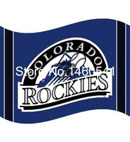 Colorado Rockies Flag 3ft X 5ft Polyester MLB Team Banner Flying Size No 4 144 96cm