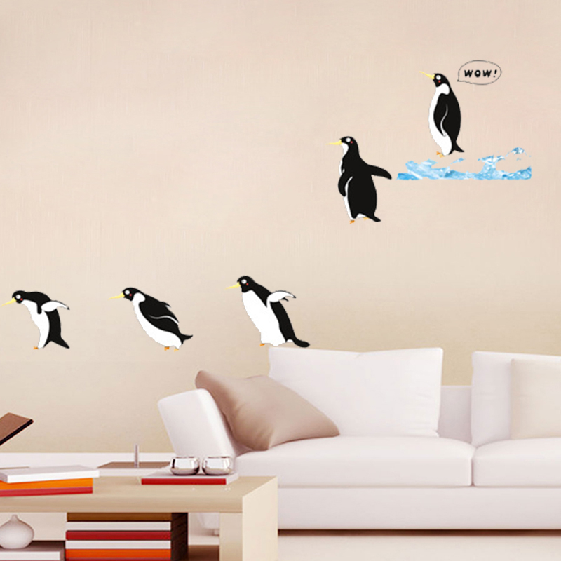 Wall Stickers Five Penguins Kida Baby