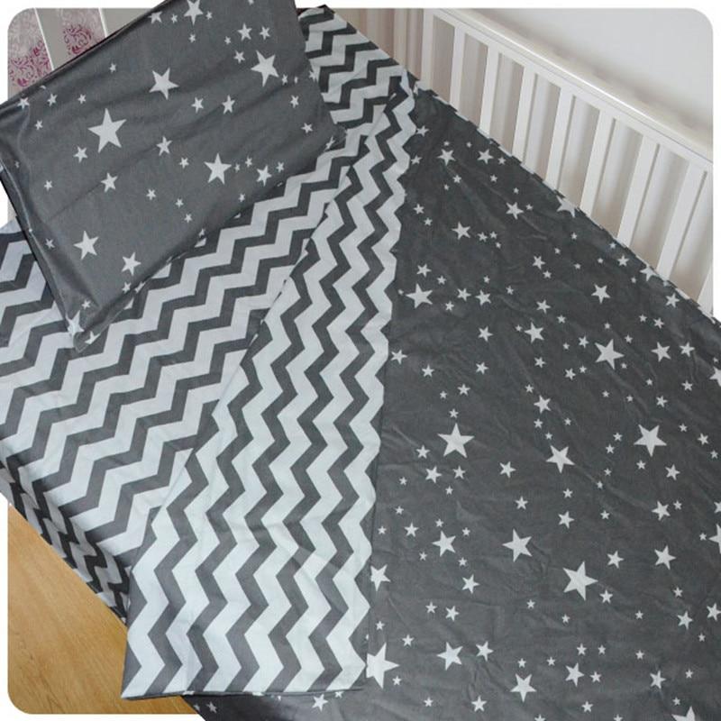 f8df4d07e5d53 3 pcs bébé berceau ensemble de literie coton Quilt Couverture draps linge  de lit enfants kit de taie d oreiller sabanas Ensembles de linge sans  remplissage