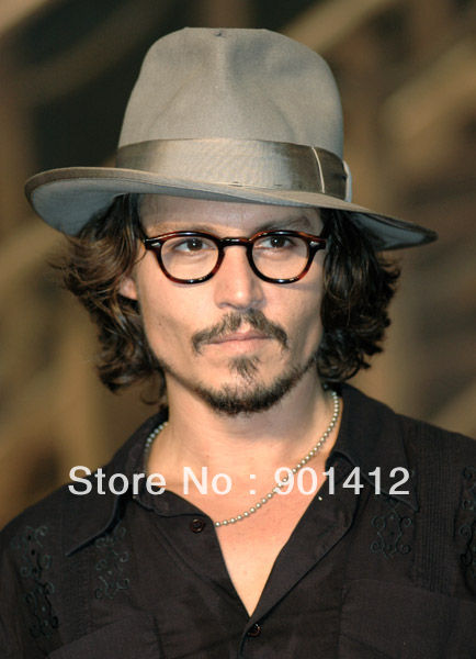 c311245c2ea free shipping Retro Vintage Johnny Depp original Eyeglasses Tortoise eyewear  60 s for men optical frame fashion
