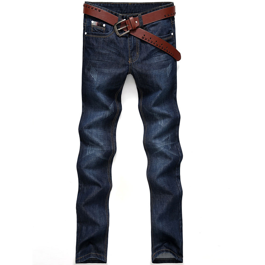 New Fashion Style Hot Sale Autumn Winter Thick Male Jeans Straight Slim Looking Men Full Length Pants Heavyweight Solid Cozy qcy qy7 wireless bluetooth 4 1 stereo sport earphone headphone studio music headset with mic black green