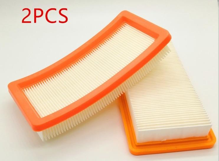2pcs/lot Washable Karcher Filter For DS5500,DS6000,DS5600,DS5800 Robot Vacuum Cleaner Parts Karcher 6.414-631.0 Hepa Filters