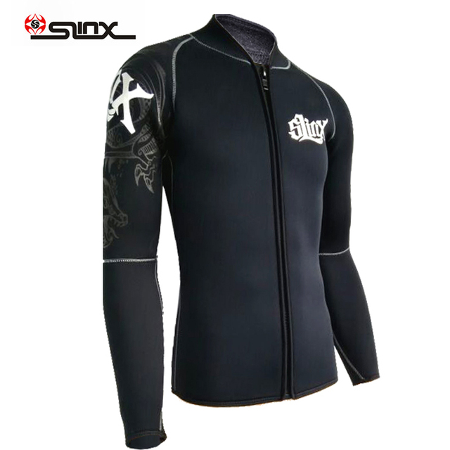 Slinx mens 5mm neoprene jackets Wetsuit Long Sleeve Diving Wetsuits Top Superlite size s to xxxl