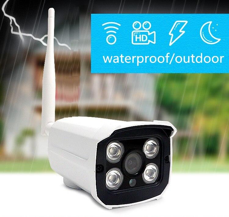 imágenes para HD Mini bala del IP del P2P Cámara Inalámbrica Wifi soporte de memoria tarjeta de msd APLICACIÓN Gratuita de Seguridad impermeable al aire libre