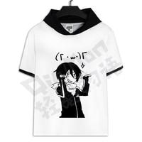 summer T shirt Short Sleeve For Men women no game no life 3 D design T shirts cosplay