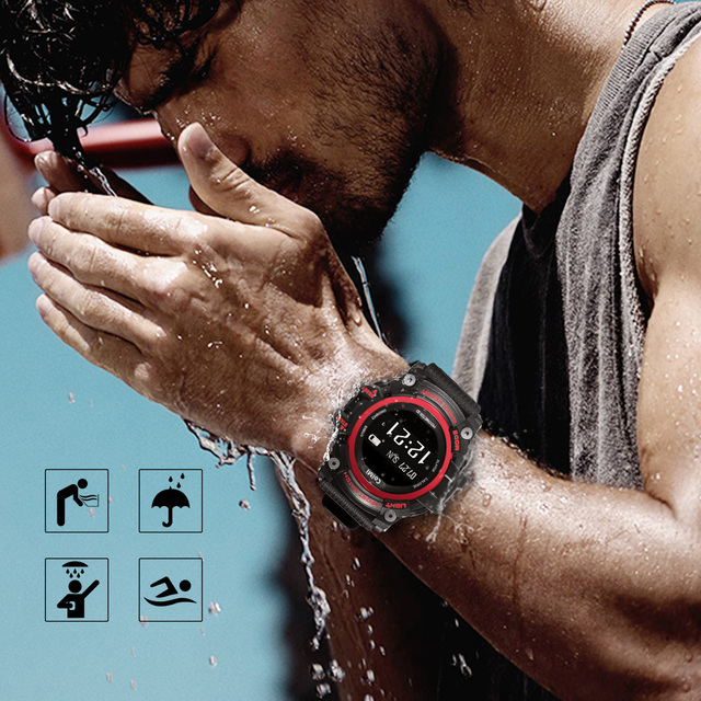 ColMi T1 Smart Watch Waterproof IP68 Heart Rate Monitor Smartwatch