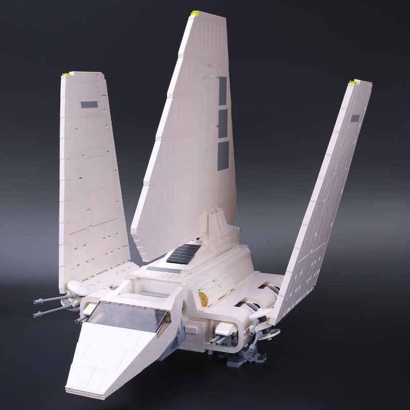 New LEPIN 05034 2503Pcs Star Wars Imperial Shuttle Model Building Kit Blocks Bricks Compatible Children Toy Gifts With 10212 lepin 16014 1230pcs space shuttle expedition model building kits set blocks bricks compatible with lego gift kid children toy