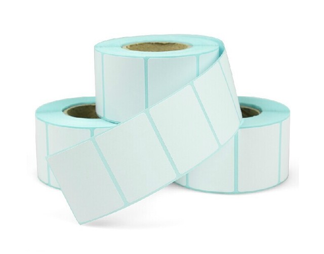 4030 (40*30*800) Papel adhesivo térmico papel térmico Etiqueta de código de barras papel adhesivo para impresora de pegatinas
