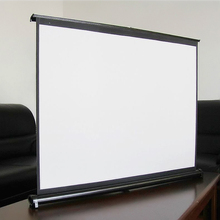 40inch(4:3) Portable Aluminum Stand Mini Table Projector Screen Free Shipping !!!