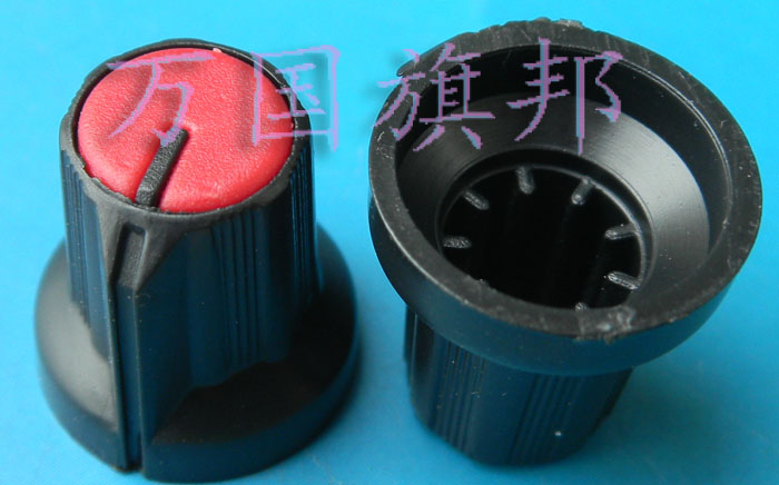 Free Delivery. Plastic Potentiometer Knob High 16 Mm Diameter 15 Mm Red Black And Red
