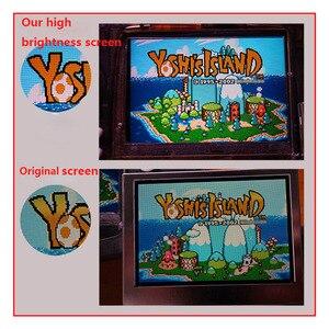 Image 3 - 10 niveaus Hoge Helderheid IPS Backlight LCD voor Nintend GBA Console Lcd scherm Verstelbare Helderheid Voor GBA Console