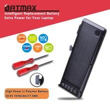 6 células 7070 mah a1382 bateria para macbook pro 15 polegada a1286 (apenas para o início de 2011, final de 2011, meados de 2012), mc721ll/a mc723ll