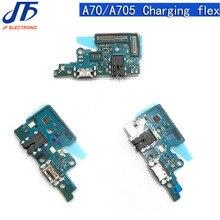 10pcs 삼성 갤럭시 A10 A80 A20E A30S A40 A60 A50S A70 M10 M20 M30 A11 M40 21USB 충전기 독 포트 플렉스 케이블