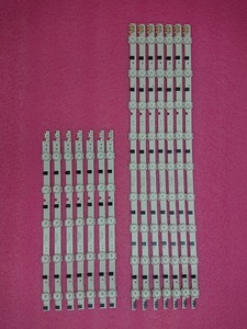 Image 1 - (新キット) 14 ピース/セット LED ストリップ交換 UE42F5300 D2GE 420SCB R3 D2GE 420SCA R3 2013SVS42F BN96 25306A 25307A