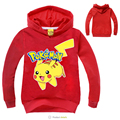 2016 Fashion Pokemon Go Boys Girls Hoodies Autumn Long Sleeve Children Jackets Warm Soft Toddler Coats Baby Top Clothes