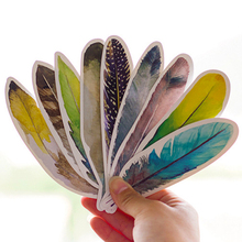30pcs bookmark Feather book marks clips para papel Stationery items Office accessories School supplies marcador de libro FC381