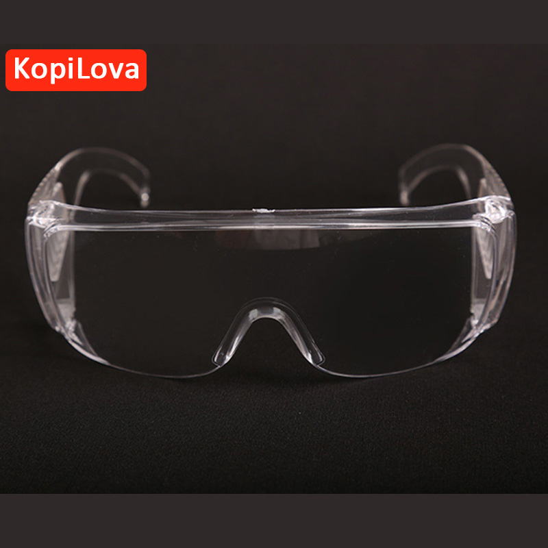 KopiLova Safety Goggles Anti Dust Aviod Sputtering Goggles Windproof Glasses for Eye Protection Free Shipping adjustable windproof elastic band night vision goggles glass children protection glasses green lens eye shield with led