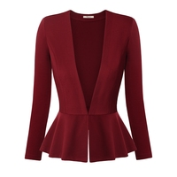 Messic Women Blazers And Jackets Autumn Slim Bodycon Ladies Blazers Office Wear Business Jacket Top Elegant