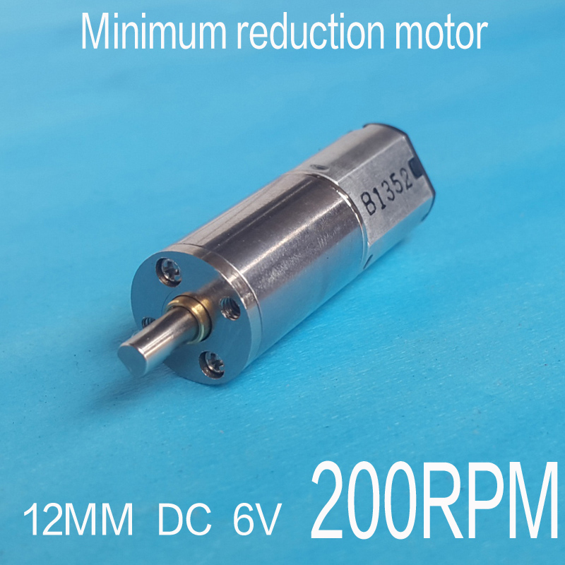 3V 50RPM Torque Gear Box Motor New